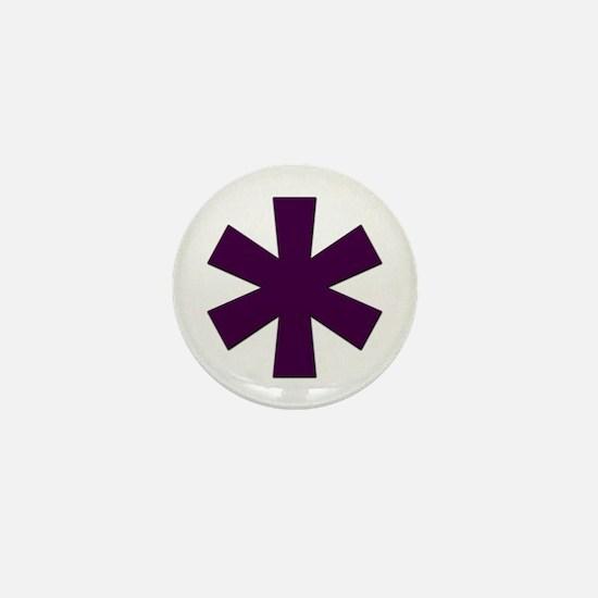 Asterisk Mini Button