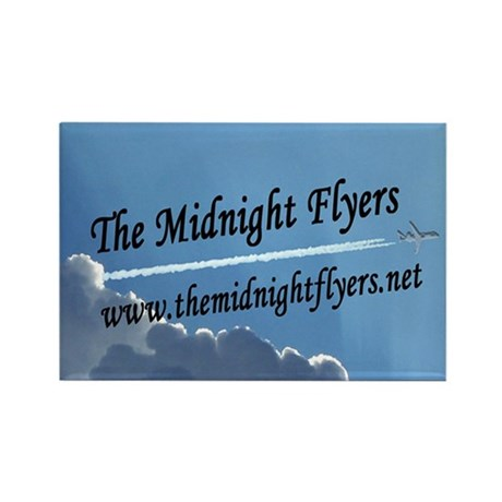 The Midnight Flyers Rectangle Magnet