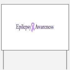 Epilepsy Awarenes Yard Sign