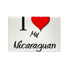 I Love My Nicaraguan Rectangle Magnet