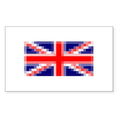 Union Jack 3.0 Rectangle Sticker
