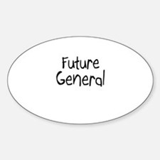Future General Oval Decal