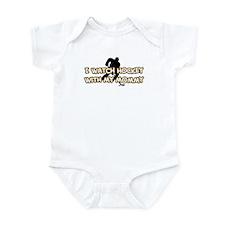 Boston Hockey Mommy Infant Bodysuit