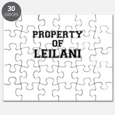 Property of LEILANI Puzzle
