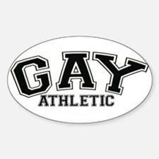 Gay Athletic Oval Decal