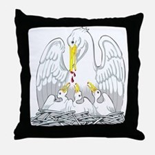 Order of the Pelican Throw Pillow