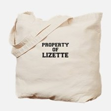 Property of LIZETTE Tote Bag