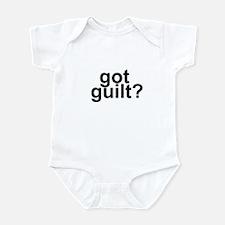 got guilt? Infant Bodysuit