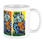 VINTAGE CAT ART Mug