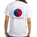 Kung fu Mens White T-shirts