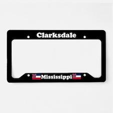 Clarksdale MS License Plate Holder