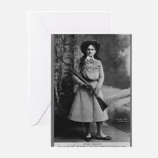 Annie Oakley Greeting Cards (Pk of 10)