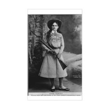 Annie Oakley Rectangle Decal