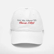 """Ask Me About My T-Bird"" Baseball Baseball Cap"