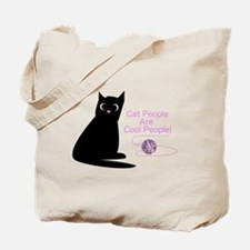 Cat People Are Cool People! Tote Bag