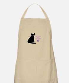 Cat People Are Cool People! Apron