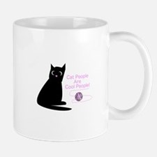 Cat People Are Cool People! Mugs