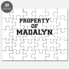 Property of MADALYN Puzzle
