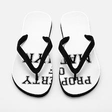 Property of MADILYN Flip Flops