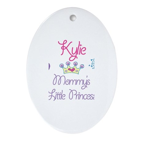 Kylie - Mommy's Little Prince Oval Ornament