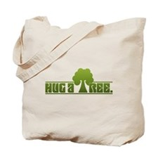 Hug a Tree Tote Bag