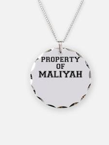 Property of MALIYAH Necklace