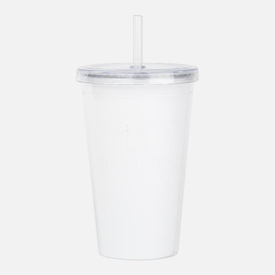 Property of MARCELO Acrylic Double-wall Tumbler