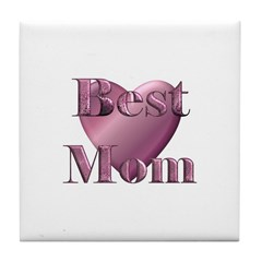 BEST MOM...SOME ITEMS SAY LUV MY KIDS ON BACK Tile