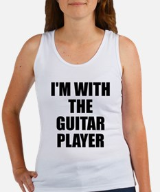 I'm with the guitar player Women's Tank Top