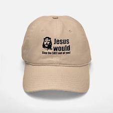 Jesus Slap! Baseball Baseball Cap
