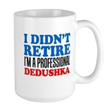 Russian grandpa Large Mugs (15 oz)
