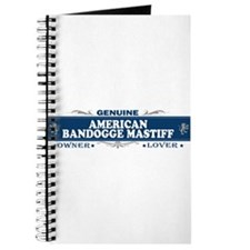 AMERICAN BANDOGGE MASTIFF Journal