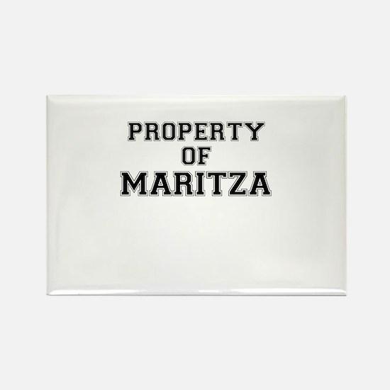Property of MARITZA Magnets
