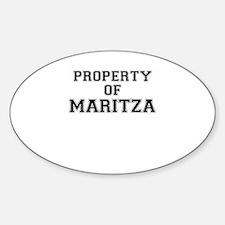 Property of MARITZA Decal