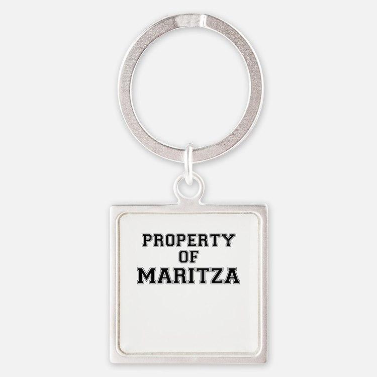 Property of MARITZA Keychains