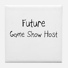 Future Game Show Host Tile Coaster