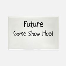 Future Game Show Host Rectangle Magnet