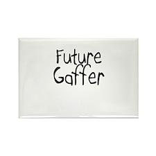 Future Gaffer Rectangle Magnet