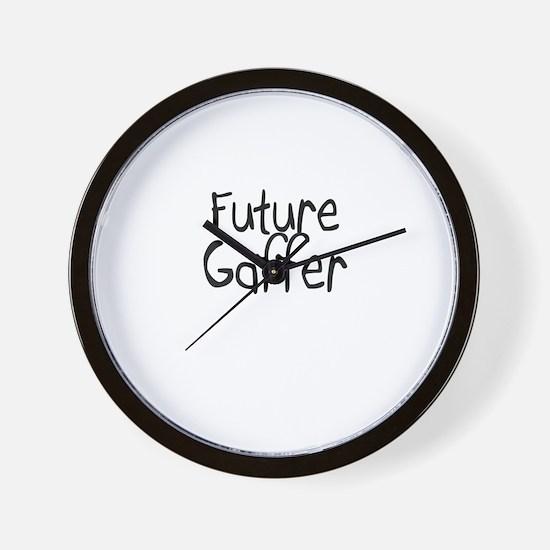 Future Gaffer Wall Clock