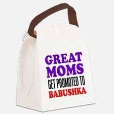 Promoted To Babushka Drinkware Canvas Lunch Bag