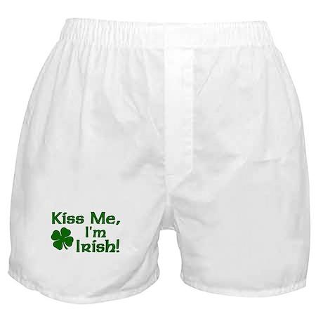 Kiss Me I'm Irish Boxer Shorts