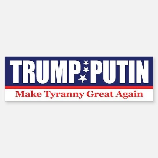 Trump Putin 2016 Bumper Bumper Bumper Sticker