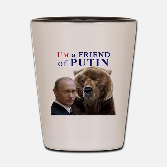 Cute Putin Shot Glass