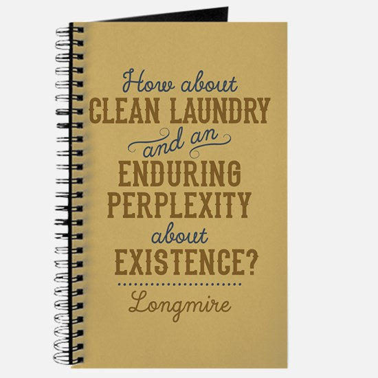Longmire Clean Laundry Journal