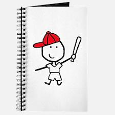 Boy & Baseball Journal