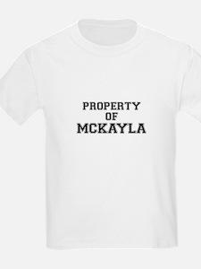 Property of MCKAYLA T-Shirt