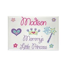 Madison - Mommy's Little Prin Rectangle Magnet