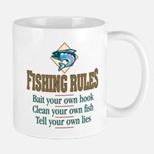 Fishing Rules - Mug