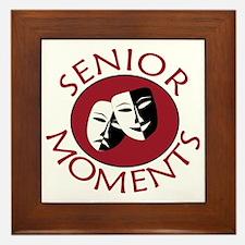 Cute Seniors Framed Tile