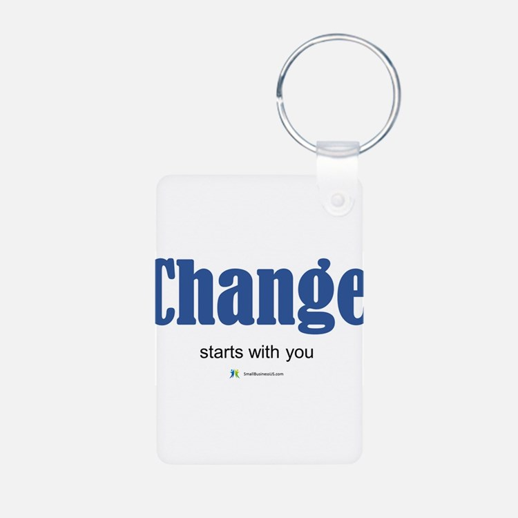 Change starts with you Keychains